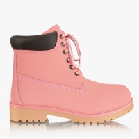 Workery Timberki Pink Trappers