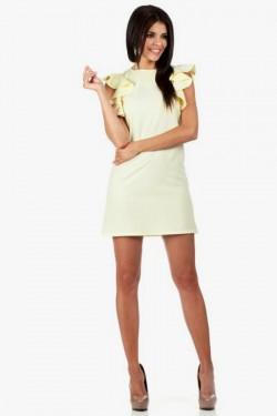 Sukienka bez rękawów Valance Yellow