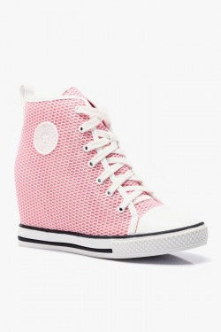 Tenisówki HighTop Mesh It Up Pink