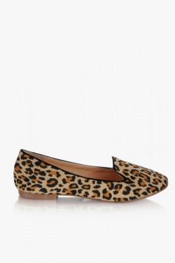 Loafers Leopard Print