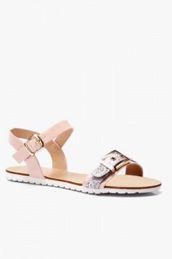 Sandały Anabelle Pink Pu
