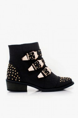 Arly Studded Ankle Bootie
