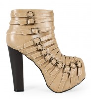 Hot Girle10 Bootie beige