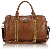 Torebka Damska Glee Brown Spike Bag