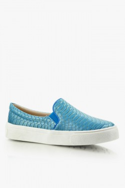 Trampki SlipOn Glare 3 Blue Croc Pat