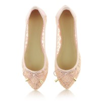 Baleriny Tender Lace Pink