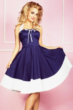 Sukienka PinUp Navy