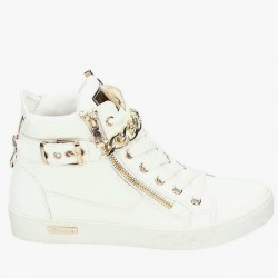Sneakersy Rims High White Pat