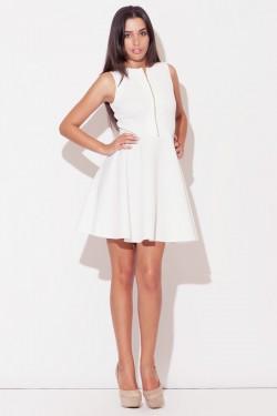 Sukienka Wilma-4 Ecru