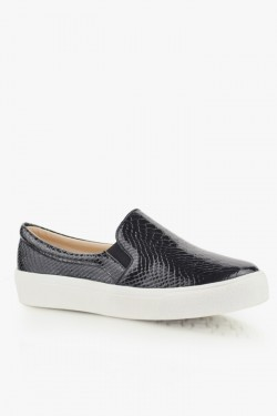 Trampki SlipOn Glare 3  Black Croc Pat
