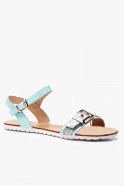 Sandały Anabelle Blue Pu