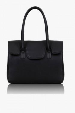 Torebka Damska Ziptop Black