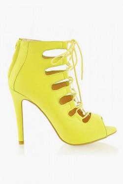 Botki Gladiatorki Impress Yellow Pu
