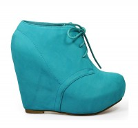 Camilla1 Wedge Bootie mint