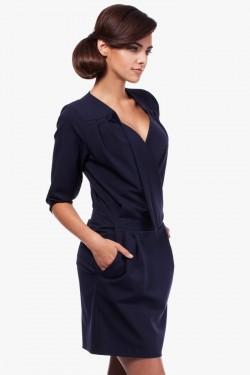 Sukienka kopertowa Vogue Navy