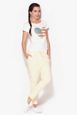 Spodnie Nancy Yellow