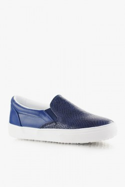 Trampki SlipOn Unique Navy Croc
