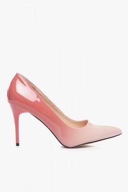 Cieniowane Szpilki Miss-Me Pink