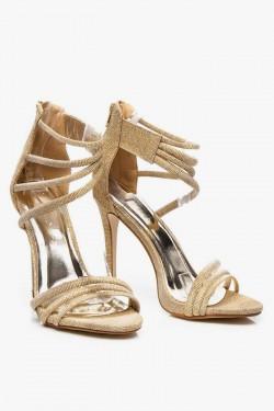 Sandałki Margaret Gold Glitter