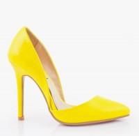 Szpilki OMG Lapore Yellow Pat
