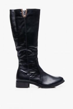 Kozaki Classic Boots Black Pu