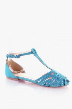 Sandałki Glisten Blue Su
