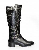 Kozaki JULLY boots Black Pu