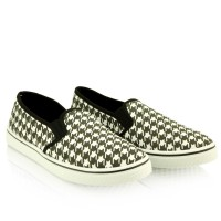 Slip On's Pepitka Black