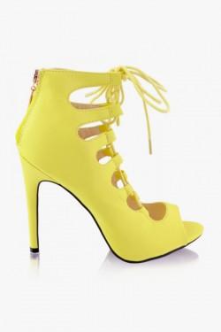 Gladiatorki Impress Laila Yellow Pu
