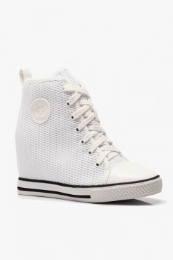 Tenisówki HighTop Mesh It Up White