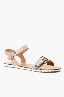 Sandały Anabelle Beige Pu