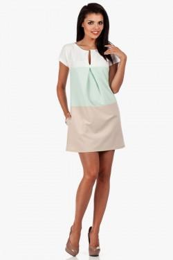 Sukienka z dekoltem Three Colors Mint