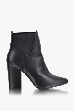 Botki Victoria Black Ankle Boots
