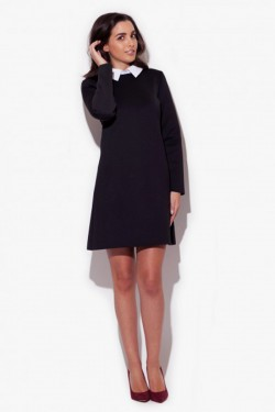 Sukienka Sabrina Black Collar