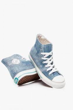 Tenisówki HighTop Jeans light Blue