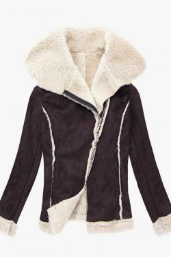 Kurtka kożuszek Shearling Coat Brown