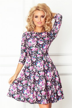 Sukienka Flower Fashion Violet