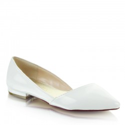 Balerinki Easy White Pat