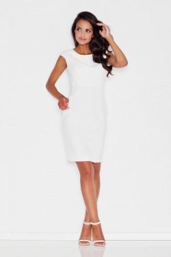 Sukienka Simple Ecru