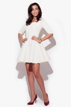 Sukienka Katie Ecru