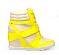 Trampki High Top DEX yellow