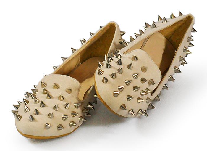Studded Loafers - StyloweButy.pl