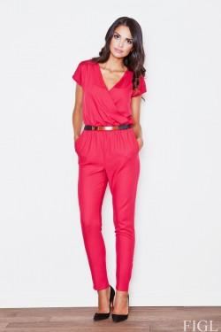 Kombinezon Glamour Red