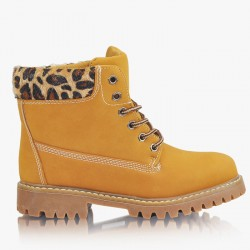 Workery Timberki Animal Print Trappers