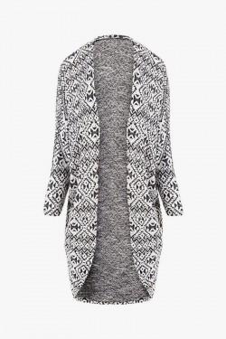 Sweter Aztec Black & White