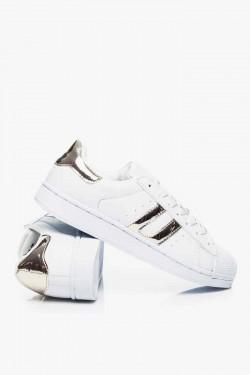 Sportowe Trampki CityStar White/Gold