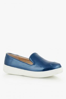 Trampki SlipOn Navy Patent