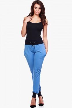 Spodnie dresowe Two Colors Blue/Black