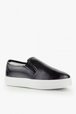 Trampki SlipOn Unique 2 Black Croc