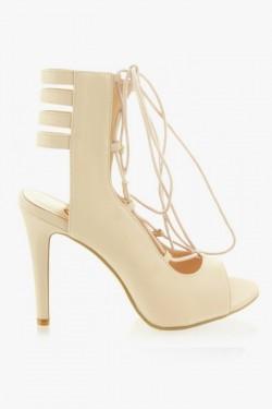 Sandałki wiązane Splendid Nude Pu